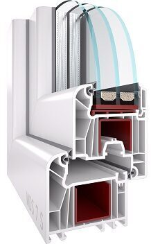 PVC LOGS 1000 X 1000